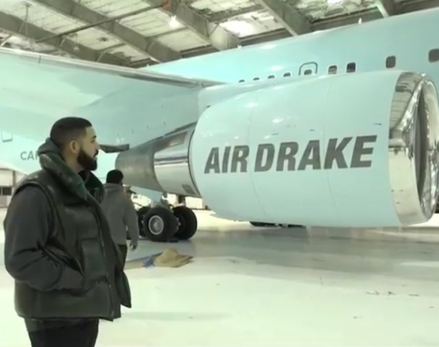 Drake acquires private jet