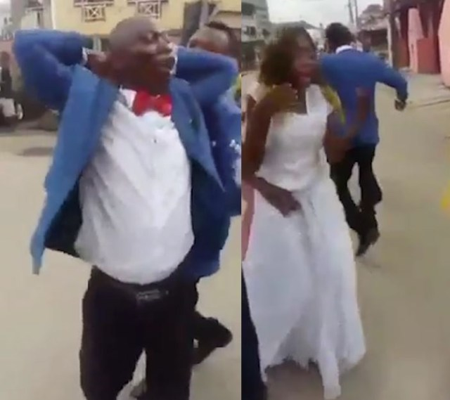 "Wedding Day Full Of Surprises When Groom Is Handcuffed: ""She's Been Cheating On Me"""