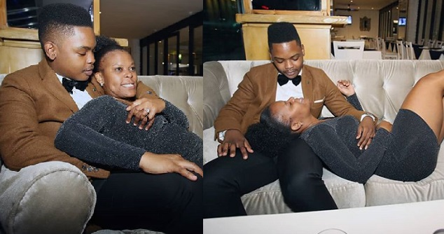 Viral photo of SA pantless dancer Zodwa Wabantu being touched in her private parts by a male fan