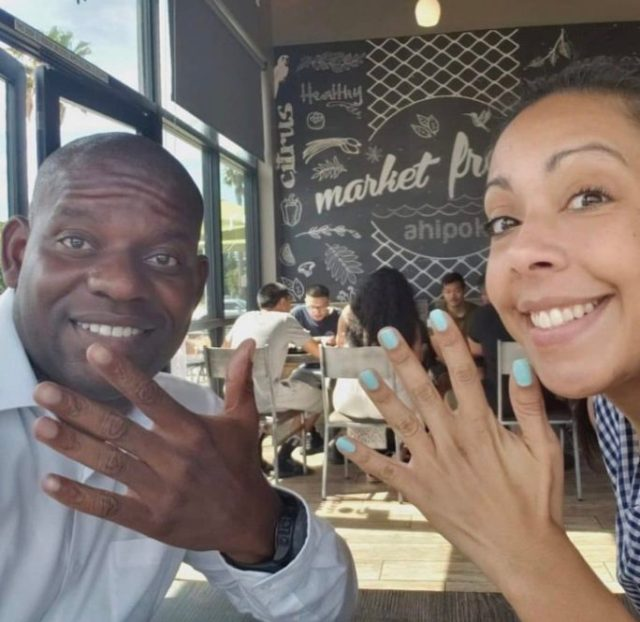 Couple excited as they celebrate their divorce after 13 years of marriage