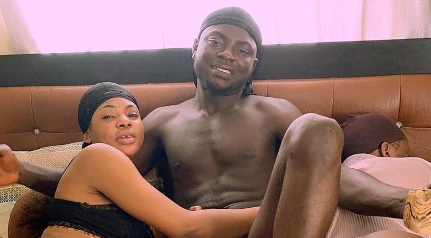 Kingtblakhoc's new girl says she has slept with Hushpuppi, Skiibii, Obafemi martins… Hushpuppi Responds. (video)