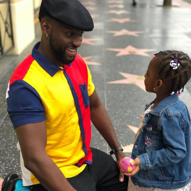 Gbenro Ajibade celebrate daughter
