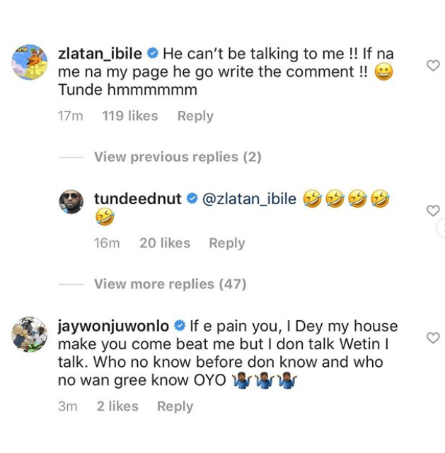 Jaywon Shades Zlatan For Copying His 'This Year' Song, Zlatan replies