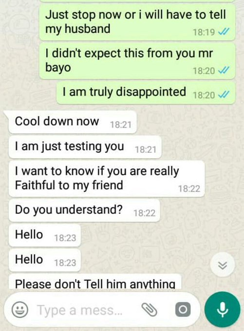 The Nigerian Man Who Tried To Sleep With His Friend's Wife Exposed.