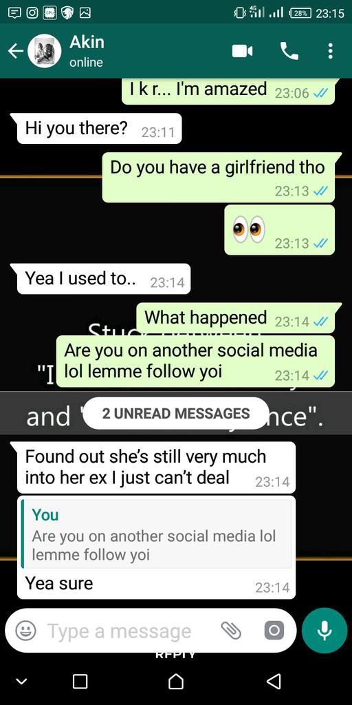 Nigerian lady loses boyfriend
