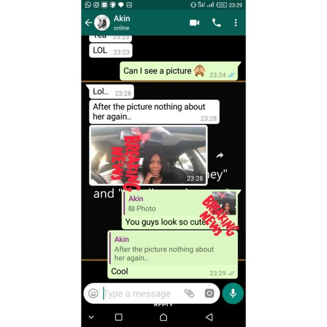 Nigerian lady loses her boyfriend to another lady after a dare (Screenshots)