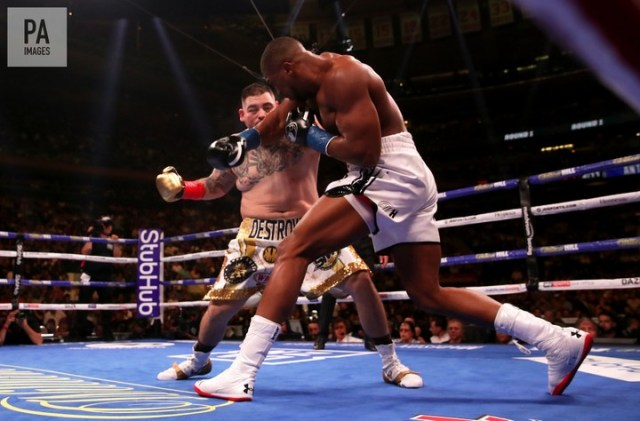 Andy Ruiz defeats Anthony Joshua