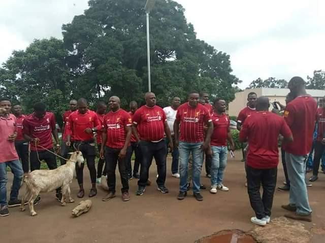 Liverpool fans Nsukka