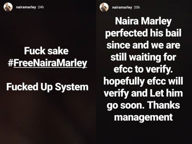 Naira Marley's management
