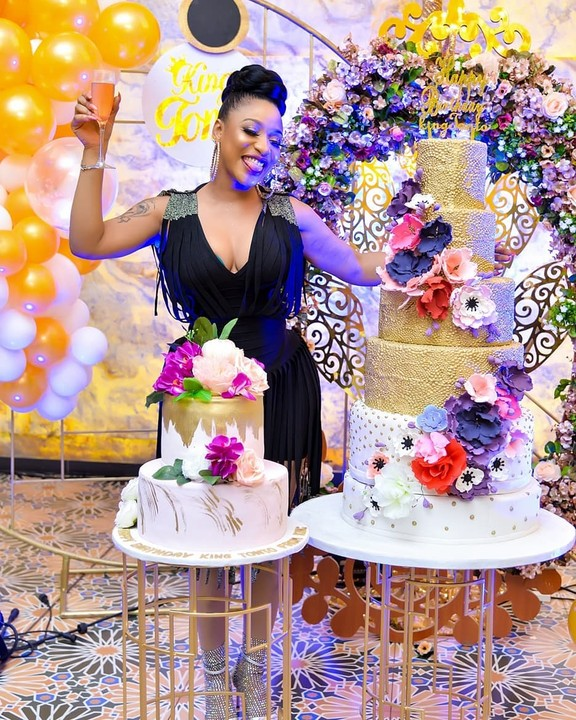 Photos from Tonto Dikeh's birthday party in Abuja