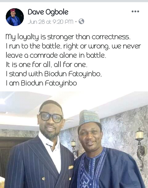 ogbole 01 - What Pastor Fatoyinbo said in Church today about the Allegations (video)
