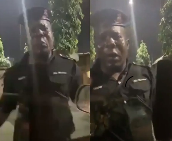 Policeman Cries Out After Being Duped By Yahoo Boys Using 'vice President Osibanjo's Name