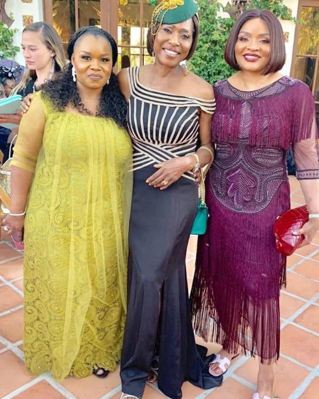 white wedding Mo Abudu daughter