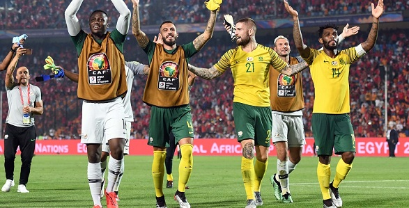 South African players to earn R520k (N13m) each after defeat by Nigeria at AFCON - YabaLeftOnline