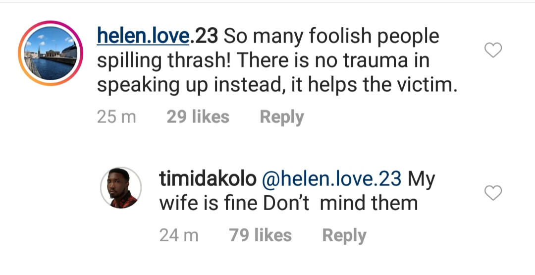 Timi Dakolo refutes reports