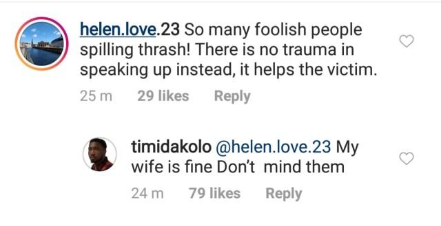 Timi Dakolo refutes reports