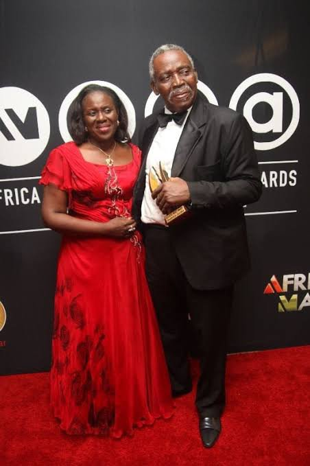 Joke Silva showers husband