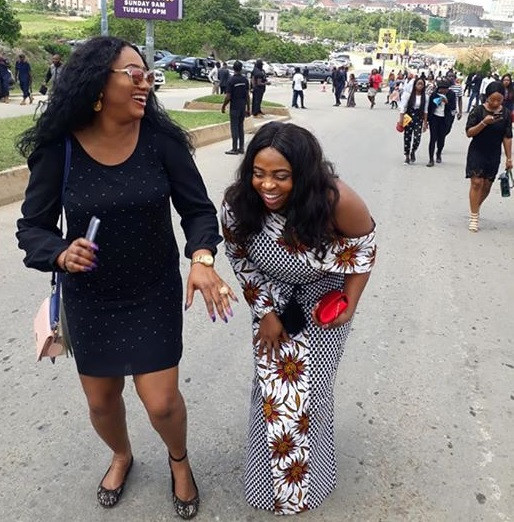 (Women) Laughing Their Eyes Out As COZA Members Mock Protesters