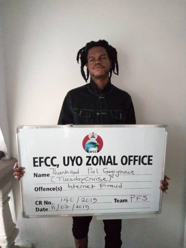 Nigerian Singer, bags jail sentence over 'yahoo yahoo'