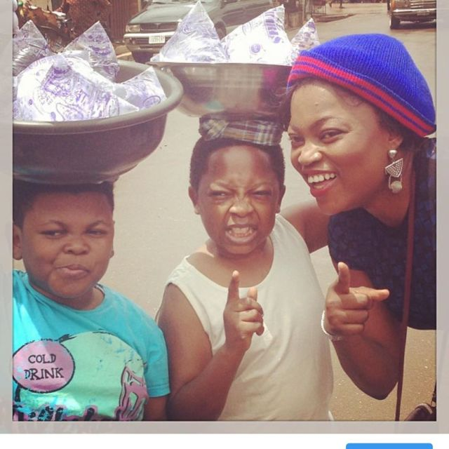 Epic throwback photos of Funke Akindele