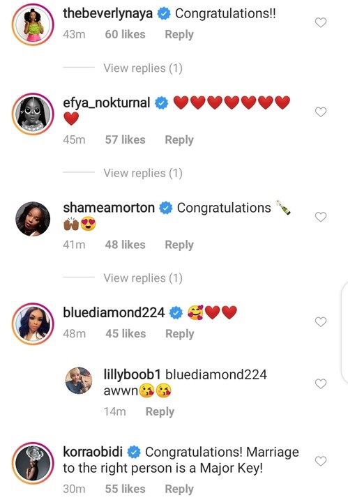 Wizkid's Baby Mama, Tiwa Savage, other celebrities congratulate Davido on marriage Proposal 5