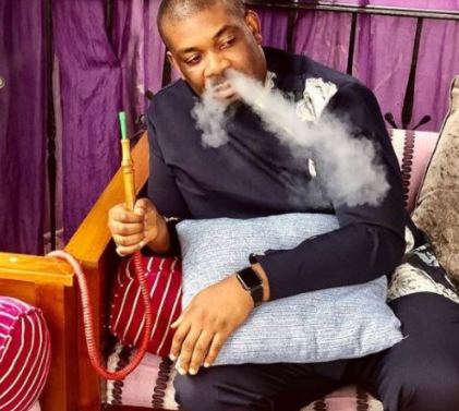 Don Jazzy celebrates two years of quitting smoking