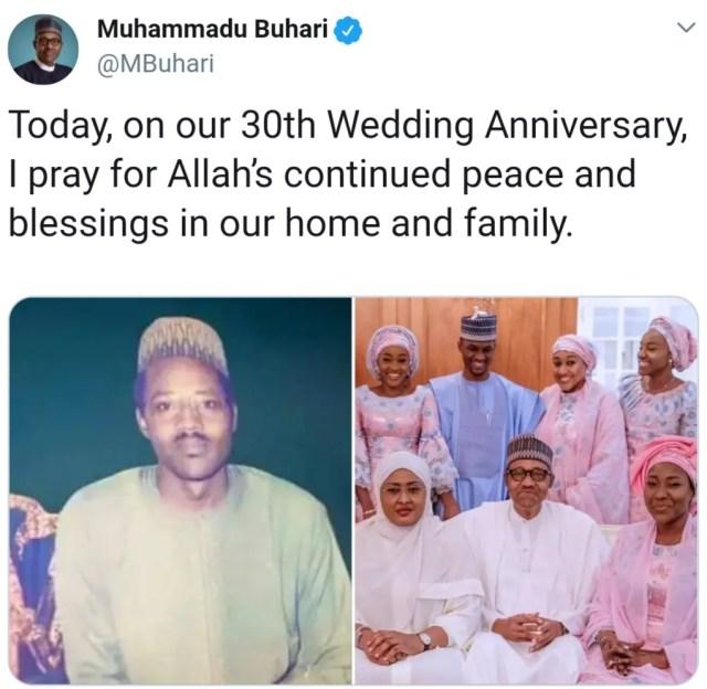 president-buhari-and-aisha-buhari-celebrate-30th-wedding-anniversary