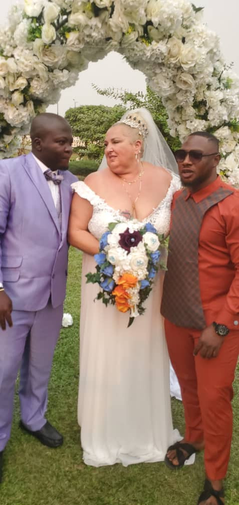 90 Day Fiance: Nigerian man, from the reality show, finally wed his much older Caucasian fiancee 1