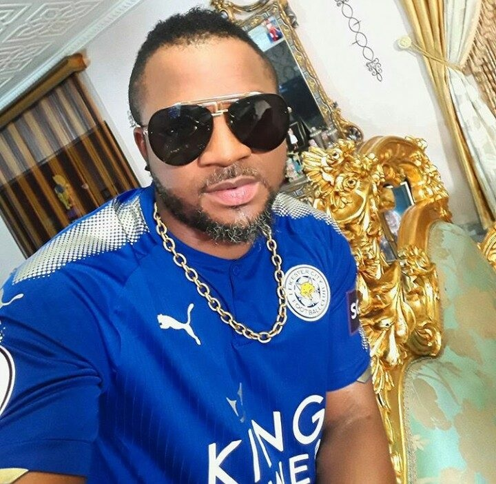 Nollywood Actor, Walter Anga shows off new mansion