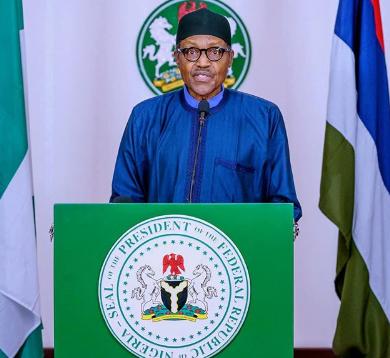 President Buhari's full speech on 2020 Democracy Day celebration