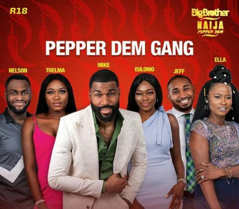 #BBNaija Pepper Dem housemates set to storm reality tv show's reunion party