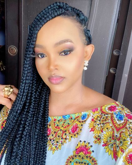 Mercy Aigbe counts