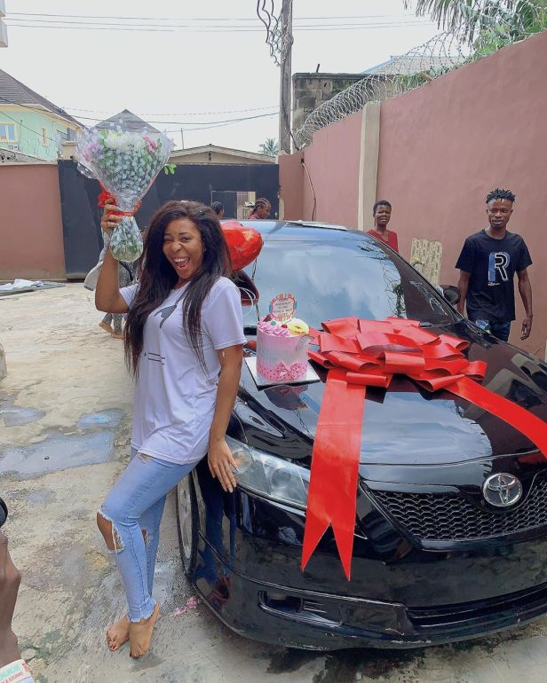 Nkechi Blessing gifts