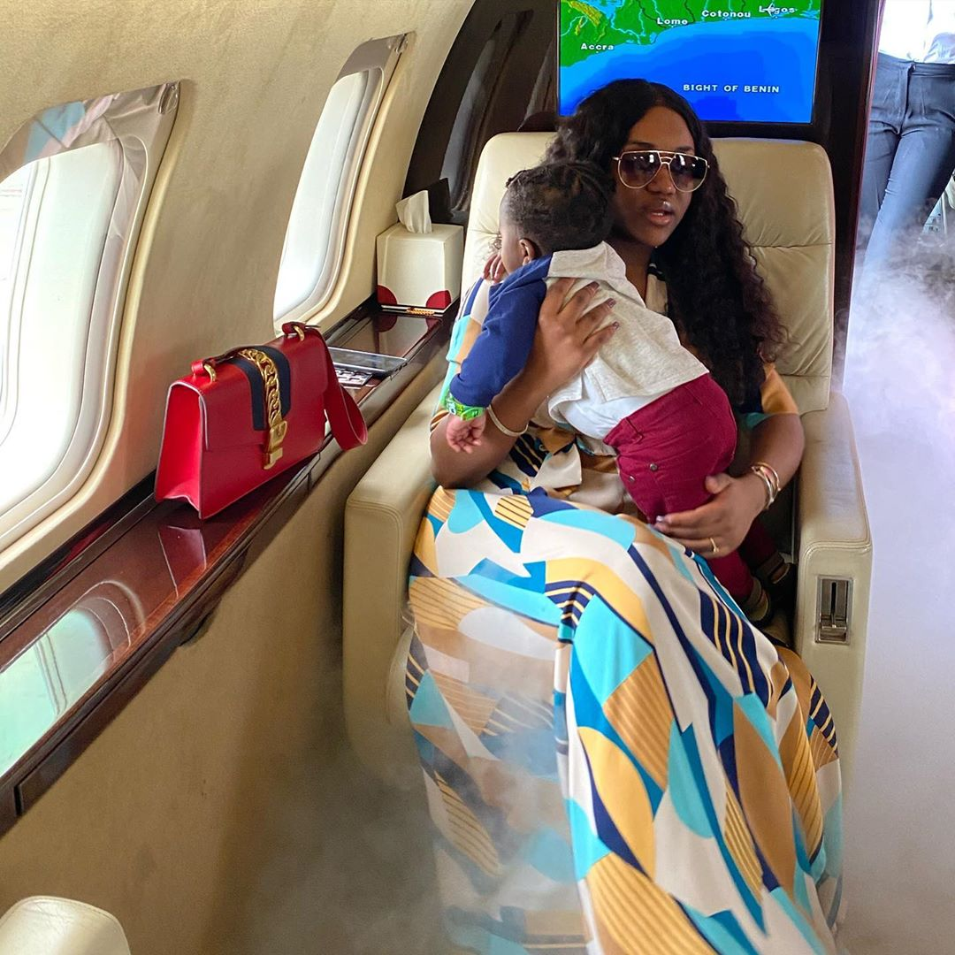 chioma buys son