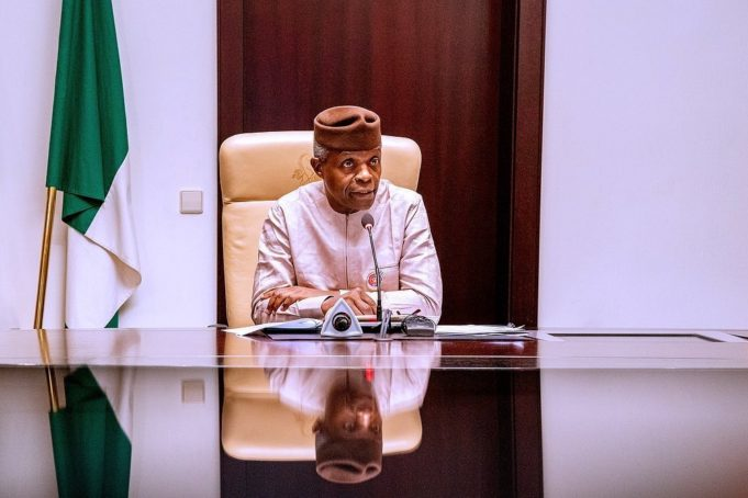"""""""Dear Nigerians, I know many of you are angry… we are sorry"""" – Vice President, Yemi Osibanjo."""