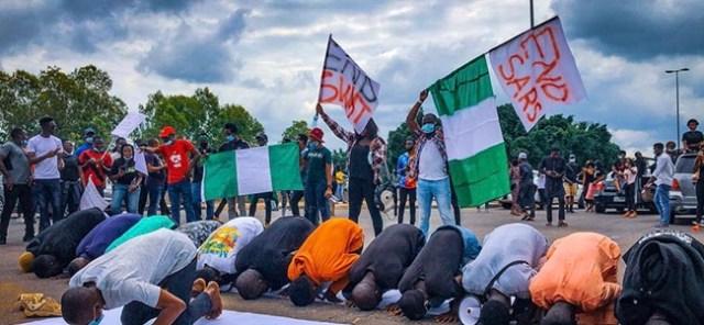 muslim endsars protesters