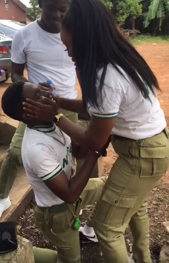 nysc member proposes