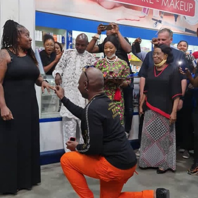 charly boy proposes