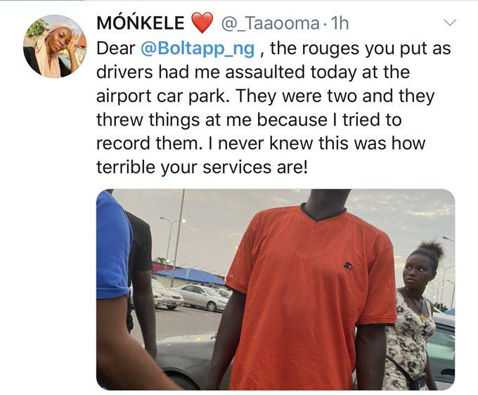"""I was assaulted by Bolt drivers, they threw things at me"""" – IG comedienne, Taaooma shares her experience - All Naija Media"""