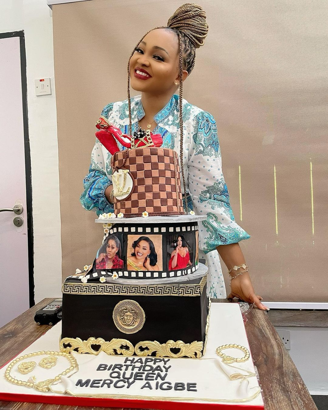 Mercy Aigbe shows