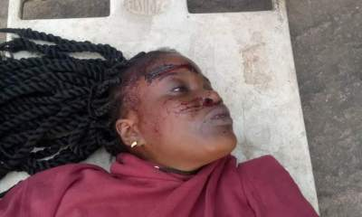 Nigerian lady dies after her boyfriend pushed her from a five-storey building in Onitsha (Photos)