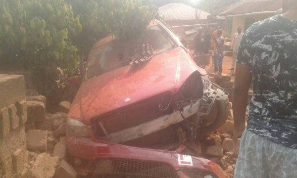 Oh my God! Car with Learner sign crushes six children to death in Edo