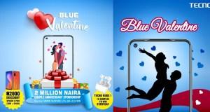 Tecno blue valentine