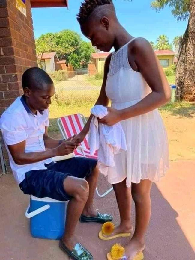 A South African gentleman is all set to marry a homeless woman he met on the street..