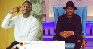 Nigerians drag Rapper, Vector