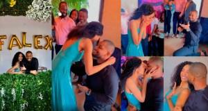 Alex Ekubo proposed