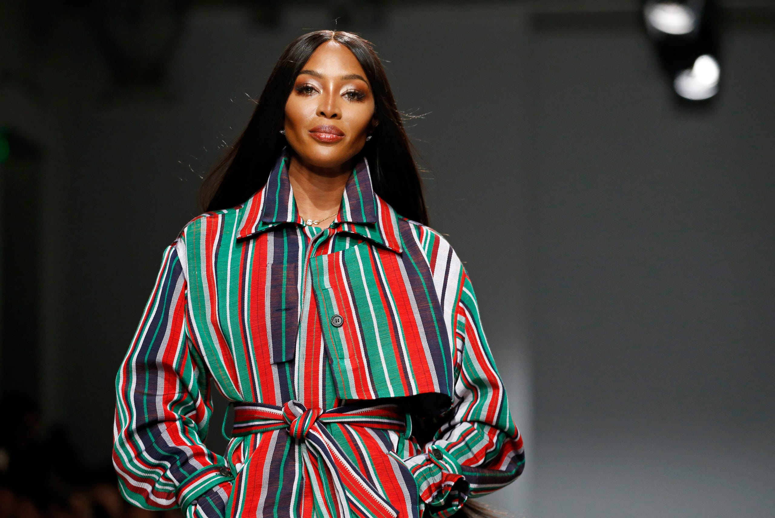 Supermodel, Naomi Campbell welcomes her first child at 50