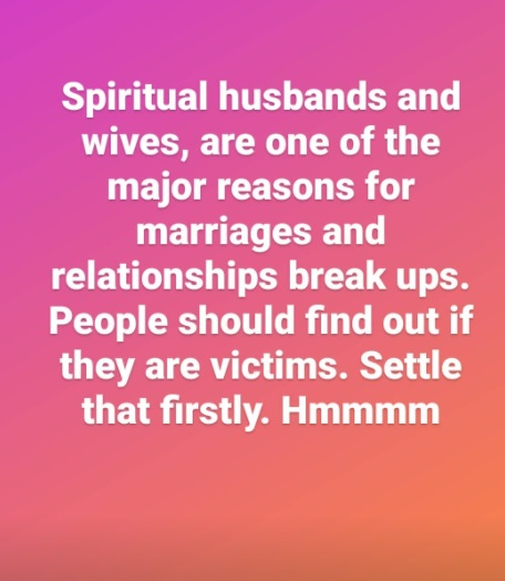 Israel DMW reveals the reason for marriages and relationships breakups