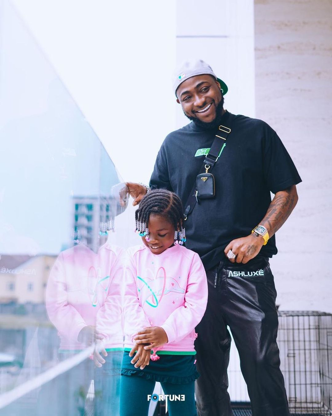 Reality star, Gifty ignores the fathers of her kids, celebrates Davido on Father's day
