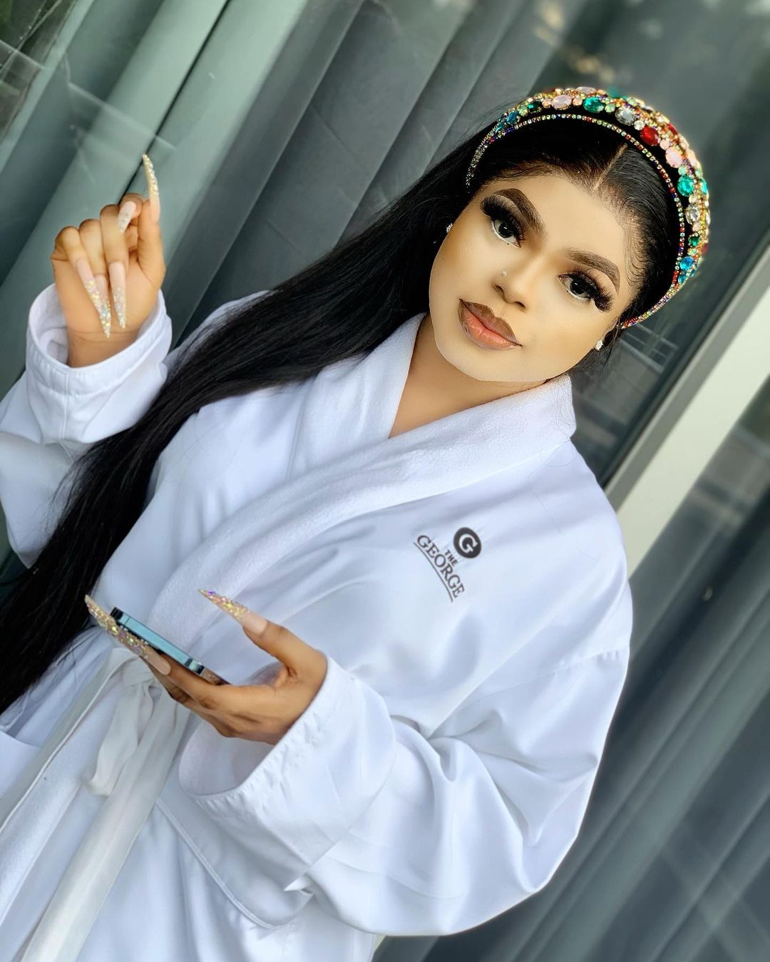 """""""Stop living a fake life for Instagram"""" - Crossdresser Michelle Page tells Bobrisky after he revealed plans for his next birthday"""
